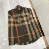 2020.11 Burberry long shirt man S-2XL (81)