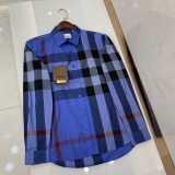2020.11 Burberry long shirt man S-2XL (74)