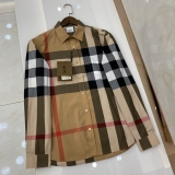 2020.11 Burberry long shirt man S-2XL (77)