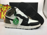 "2020.10 (Final version)Authentic Air Jordan 1 High OG ""Dark Mocha"" GS-ZLDG"