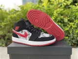 2020.11 Super Max Perfect Air Jordan 1 Mid Women Shoes -ZL (3)