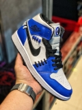 "2020.11 Normal Authentic quality and Low price Air Jordan 1 Mid""Game Royal""Men And GS Shoes - LJR"