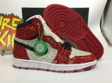 "2020.6 Authentic Air Jordan 1 High""The North Pole Chicago"" GS-ZL"