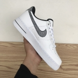 2020.11 Nike Super Max Perfect Air Force 1 Low Premium White Brown Men And Women Shoes (98%Authentic)-JB (83)