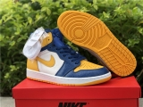 "2020.11 Super Max Perfect Air Jordan 1""Michigan""PE Women Shoes -ZL (4)"