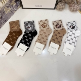 2020.10 (With Box) A Box of Gucci Socks -QQ (82)