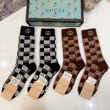 2020.10 (With Box) A Box of Gucci Socks -QQ (91)