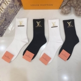 2020.11 (With Box) A Box of LV Socks -QQ (25)