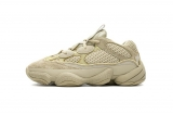 "2020.11 (Better quality)Super Max Perfect Adidas Yeezy 500 ""Super Moon Yellow"" Men and Women Shoes DB2966-LY"