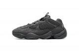"2020.11 (Better quality)Super Max Perfect Adidas Yeezy 500 ""Utility Black"" Men and Women Shoes F36640-LY"