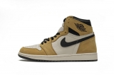 "2020.12 (better quality)Super Max Perfect Air Jordan 1 ""Rookie of the Year"" Men And Women Shoes(no worry!good quality,95%Authentic) -GET (12)"