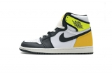 "2020.12 (better quality)Super Max Perfect Air Jordan 1 ""Volt Gold"" Men And Women Shoes(no worry!good quality,95%Authentic) -GET (16)"