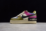 "2020.12 Nike Super Max Perfect Air Force 1 Shadow SE ""Fossil"" Women Shoes (98%Authentic)-JB (90)"