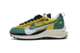 2020.8 Sacai x Perfect Nike LD Waffle Pegasua Vaporfly Yellow Green Men And Women Shoes -LY (39)