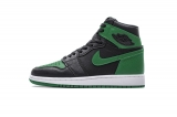 "2020.8 Super Max Perfect Air Jordan 1 Retro High OG""Pine Green""Men And Women Shoes -LY(9)"