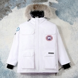 2020.12 (Normal Authentic quality) Canada Goose Down Jacket 08 With Removable Real coyote fur ruff Men -XGC1160 (1)