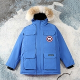 2020.12 (Normal Authentic quality) Canada Goose Down Jacket 08 With Removable Real coyote fur ruff Men -XGC1160 (4)