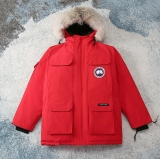 2020.12 (Normal Authentic quality) Canada Goose Down Jacket 08 With Removable Real coyote fur ruff Men -XGC1160 (2)