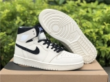 "2020.12 Super Max Perfect Air Jordan 1 Zoom CMFT""Summit White"" Women Shoes -ZL (12)"