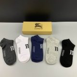 2021.3 (With Box) A Box of Burberry socks -QQ (39)