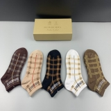 2021.3 (With Box) A Box of Burberry socks -QQ (33)