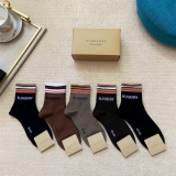 2021.3 (With Box) A Box of Burberry socks -QQ (38)