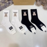 2021.3 (With Box) A Box of Burberry socks -QQ (42)