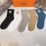 2021.3 (With Box) A Box of Hermes Socks -QQ (3)