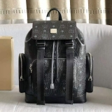 2021.4 Authentic MCM backpack-XJ800 (12)